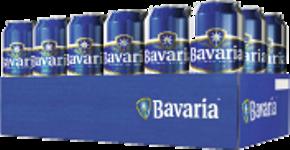 Bavaria tray met 18 blikjes á 0,50 liter