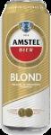 Amstel blond blik van 0,50 liter