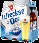 Wieckse Witte 0,0% set van 6 flesjes á 0,30 liter