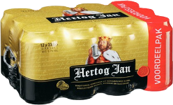 Hertog Jan set van 12 blikjes á 0,33 liter