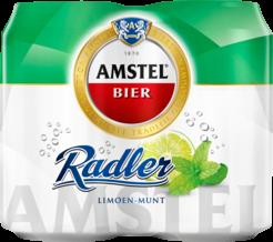 Amstel Radler Limoen Munt 4 pack