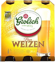 Grolsch Premium Weizen set van 6 flesjes á 0,30 liter