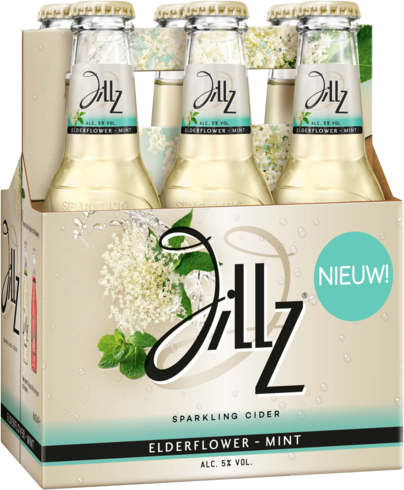 Jillz Elderflower-Mint 6 flesjes