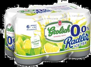 Grolsch Radler 0.0% Radler Ice Tea blikjes