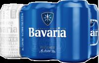 Bavaria set van  6 blikjes van 33cl