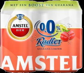 Amstel Ongefilterd set van 6 flesjes a 0,33 liter