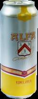 Alfa Edel Pils  blik van 0,50 liter