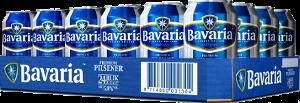 Bavaria tray met 24 blikjes á 0,50 liter