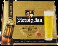 Hertog Jan set van 8 flesjes á 0,25 liter