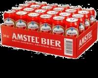 Amstel tray met 24 blikjes á 0,50 liter