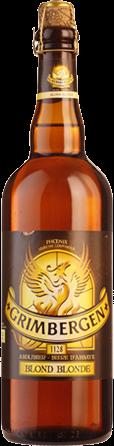 Grimbergen Blond fles van 75cl