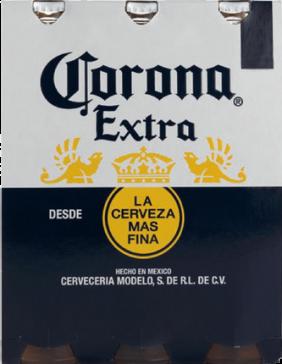 Corona set van 3 flesjes á 0,355