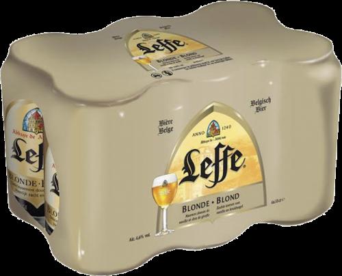 Leffe Blond set van 6 blikjes van 0,33 liter