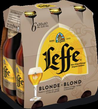Grote fles Leffe Blond van 0,75 liter