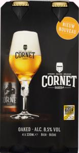 Cornet set van 4 flesjes á 0,33 liter