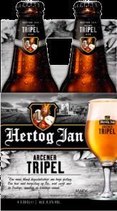 Hertog Jan Tripel set van 4 flesjes á 0,30 liter
