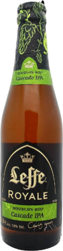 Leffe Royale Cascade IPA fles á 0,33 liter