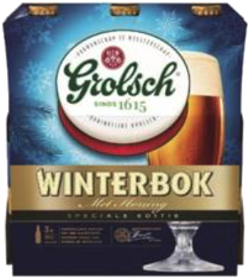Grolsch Winterbok fles a 0,33 liter