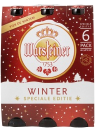 Warsteiner Winter  set van 6 flesjes a 0,33 liter
