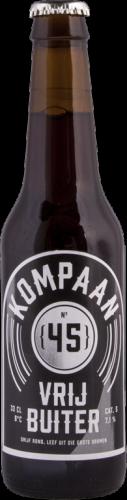 Kompaan Vrijbuiter fles a 0,33 liter