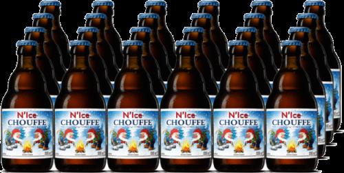 N Ice Chouffe doos 24 flesjes a 0,33 liter