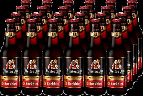 Hertog Jan Bockbier doos met 24 flesjes van 0,30 liter