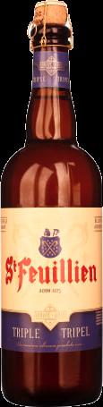 St Feuillien Tripel fles a 0,75 liter
