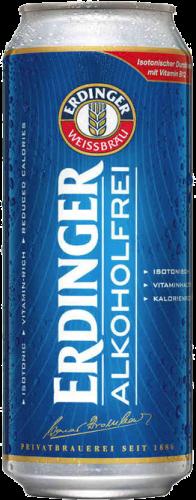 Erdinger Alkoholfrei blik van 0,50 liter