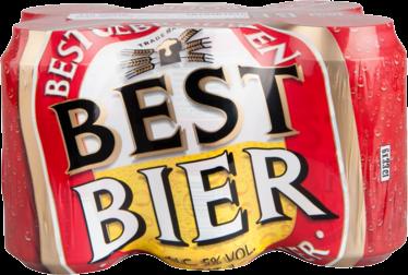 Best bier sixpack 33cl blikjes