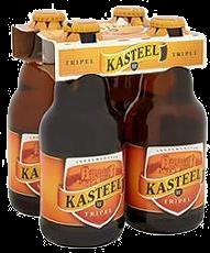 Kasteel Blond Doos van 24 flesjes a 0,33 liter
