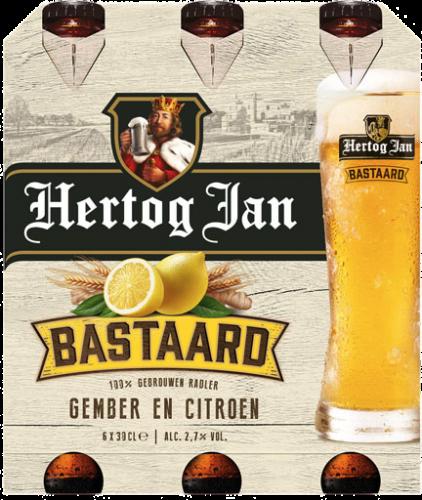 Hertog Jan Bastaard gember en citroen set van 6 flesjes a 0,30 liter