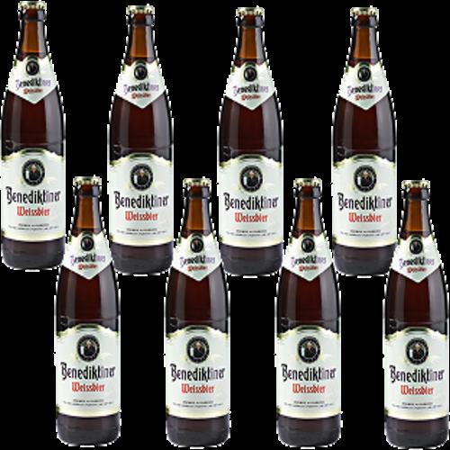 Benediktiner Weissbier set van 8 flesjes á 0,30 liter