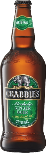Crabbies Ginger Beer fles á 0,50 liter