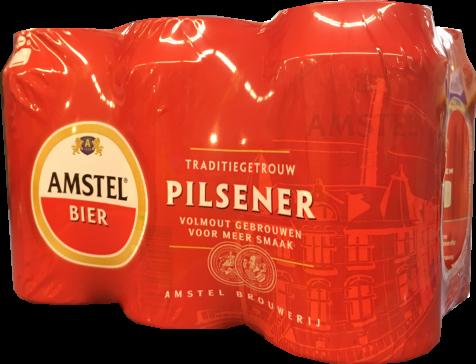 Amstel Set van 6 blikken á 0,355 liter