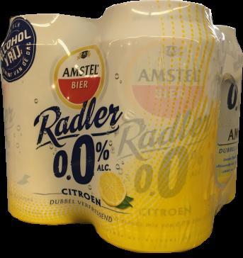 Amstel Radler 0.0% Set van 4 blikken á 0,355 liter