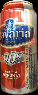 Bavaria 0.0% blik van 0,44 liter