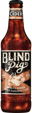 Blind Pig Cider honey & smoked fles á 0,355 liter