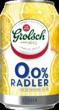 Grolsch Radler 0.0% Citroen blikje van 0,33 liter