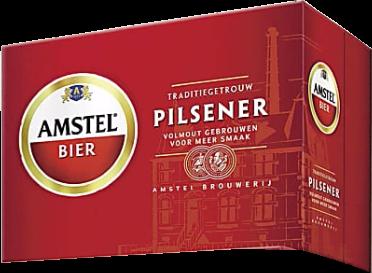 Amstel doos met 12 blikjes van 355ml