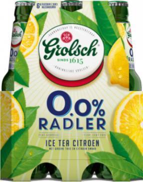 Grolsch 0.0% Radler Ice Tea Citroen set van 6 flesjes á 0,30 liter