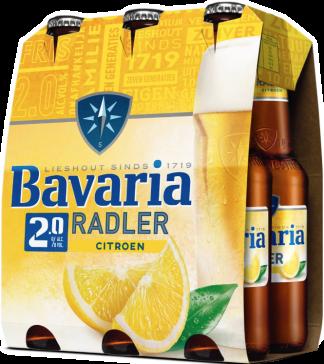 Bavaria radler flesjes 6x30cl