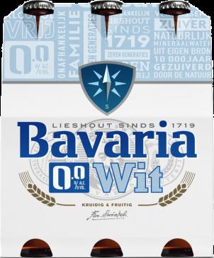 Bavaria witbier 0 alcohol flesjes 6x33