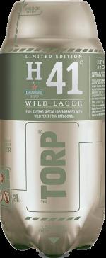 Heineken41 wild lager torp van 2 liter
