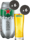 Heineken Match Night Bundle met 6 torps en 6 glazen
