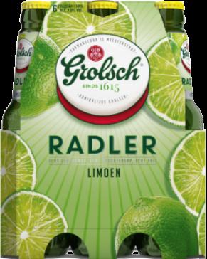 Grolsch Radler Limoen set van 6 flesjes van 30cl