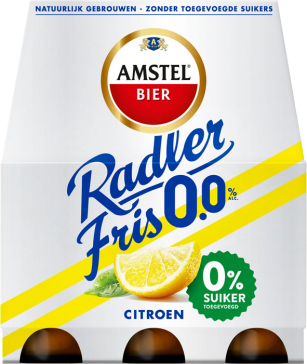 Am­stel Rad­ler 0.0% fris 6x30cl