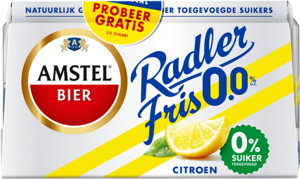 Am­stel Rad­ler 0.0% fris 6x33cl