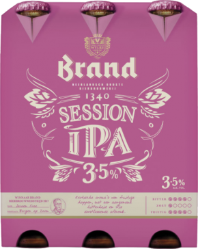 Brand Session IPA 6 x 0,3 liter