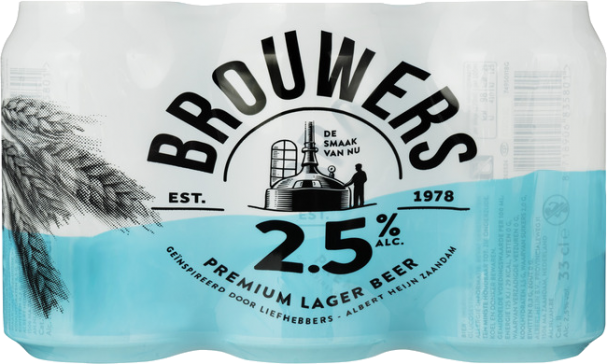 Brouwers 2.5 6x0,33cl