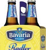 Bavaria radler lemon set van 2 flesjes a 0,30 liter